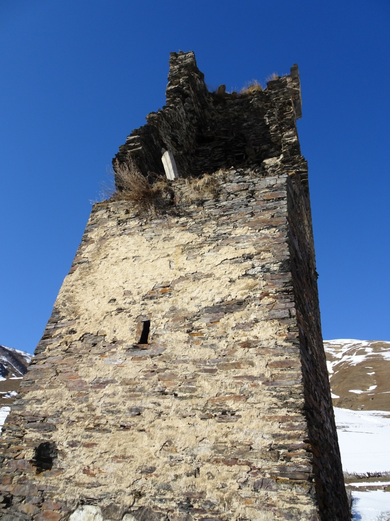 This tower had seen its best days (centuries)