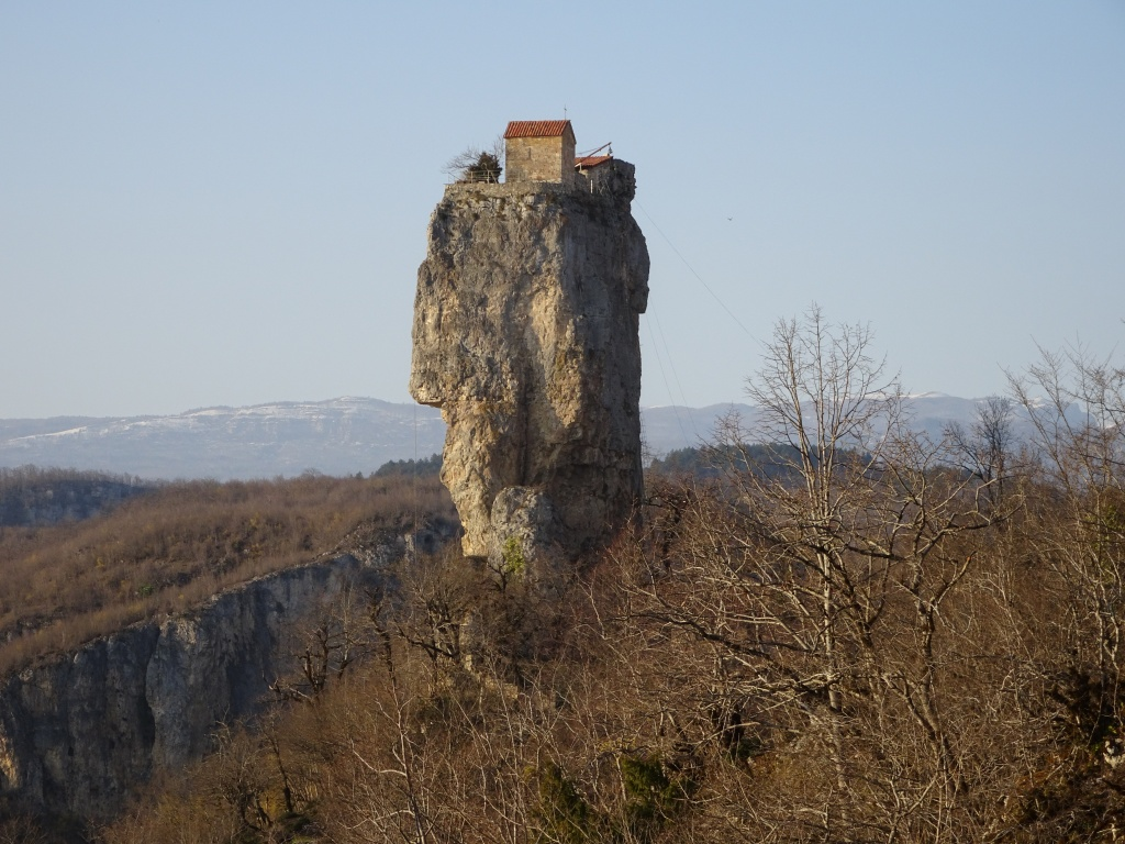 Monastery on a rock
