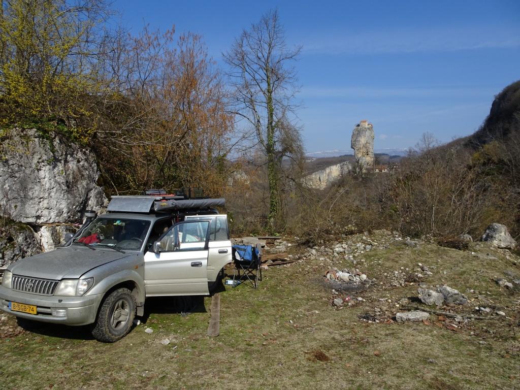 A pretty nice camping spot