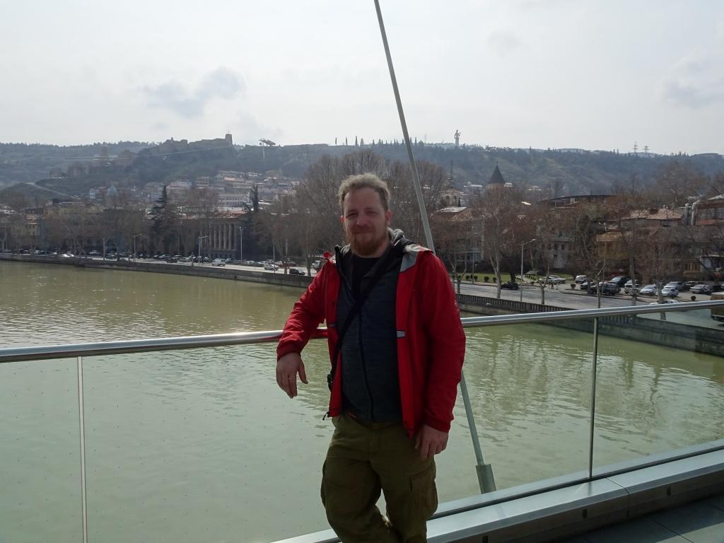 Me standing on the Bridge of piece