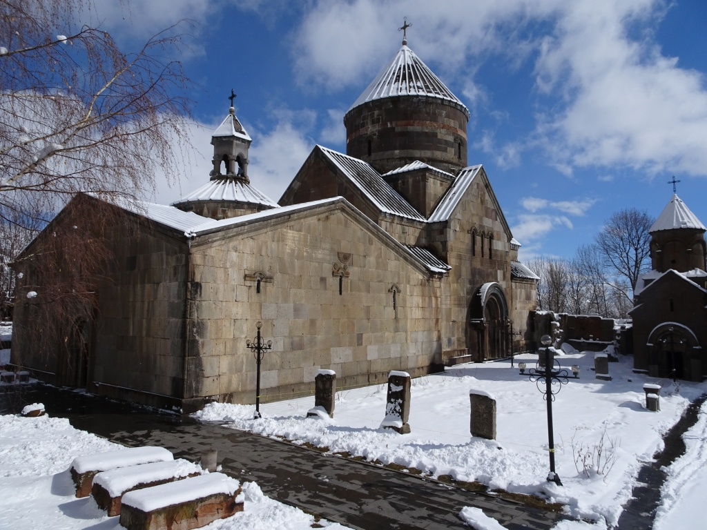 Kecharis monestary in Tsachkadzor