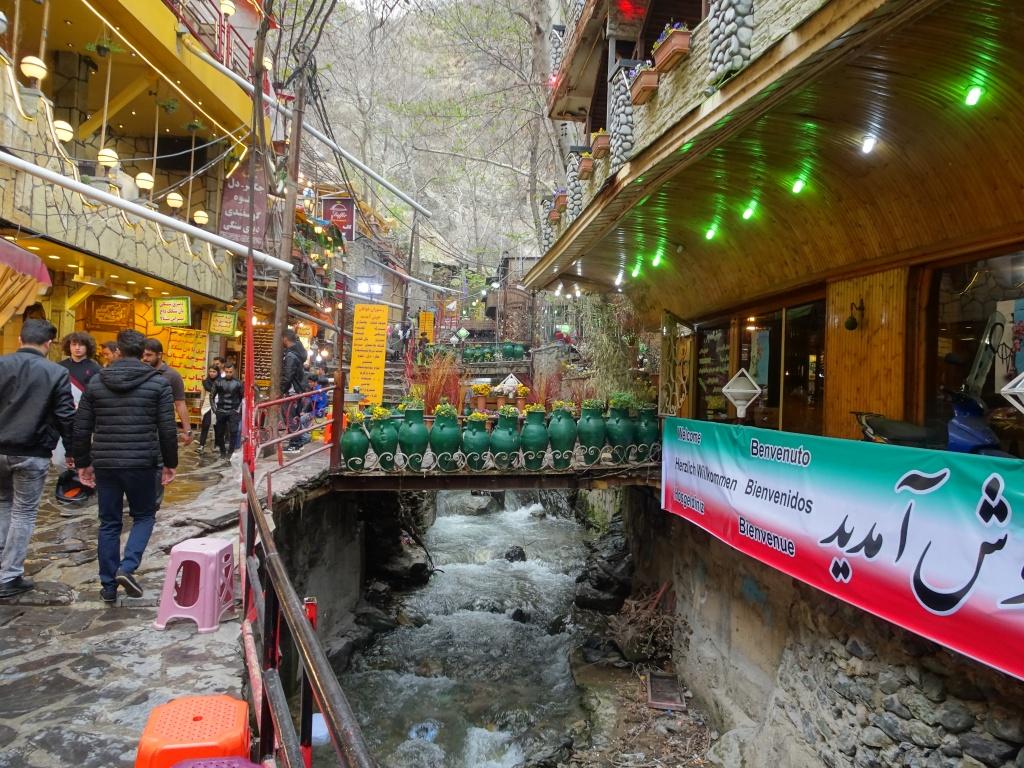Eating North of Tehran