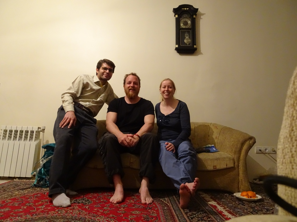 At Shiavash's place