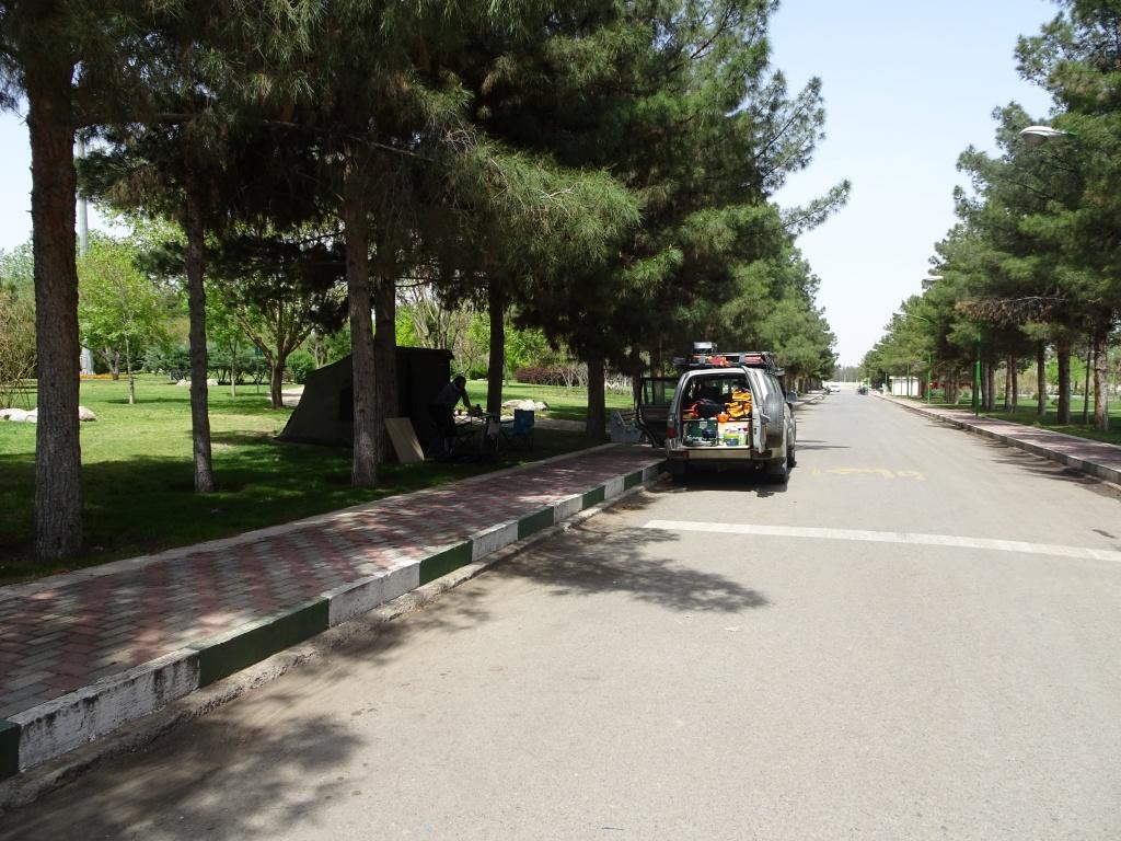 Camp near Kashan