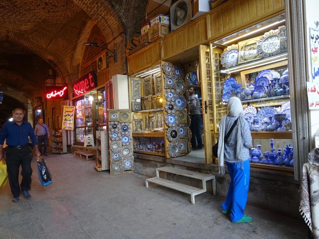 Checking the bazaar