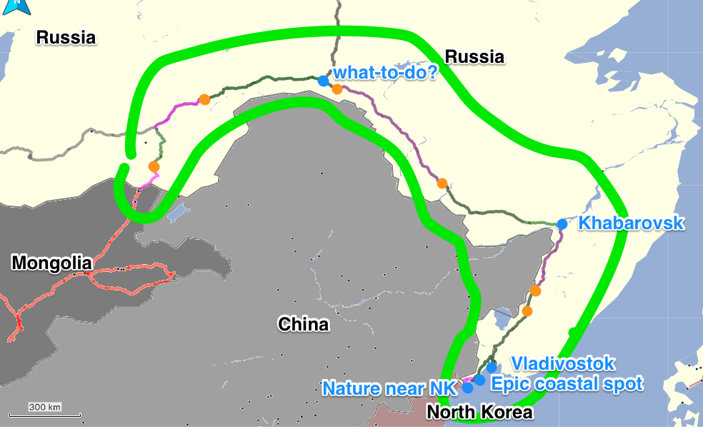 Russia 2 Part I (Border @ Solov'yevsk – Vladivostok) | Eastward! on